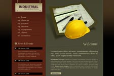 Construction Web Template 2