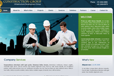 Construction Web Template 9
