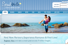 Dating Web Template 5