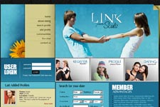 Dating Web Template 7