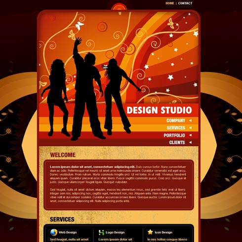 Design & Consultancy Web Template 9