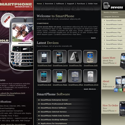 Electronics Web Template 10