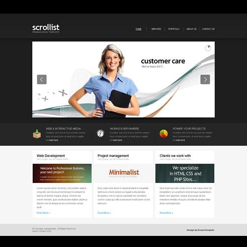 Premium Template – ScrollList
