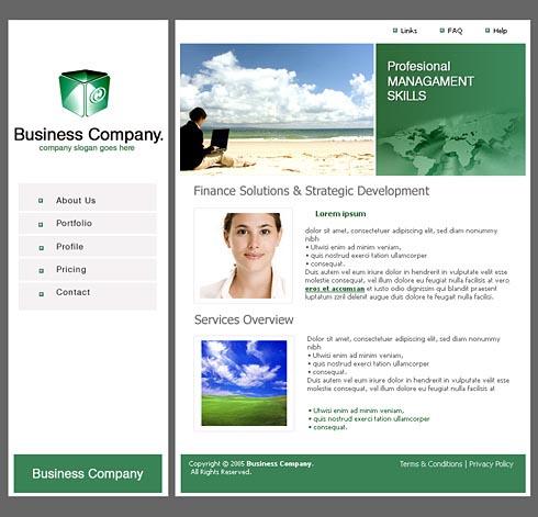 Web Template 0055