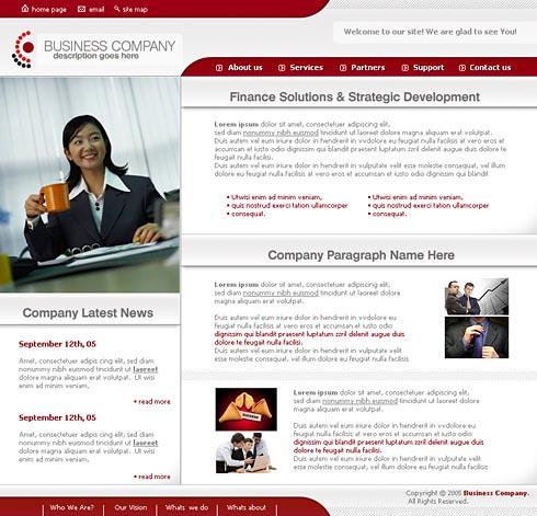 Web Template 0058