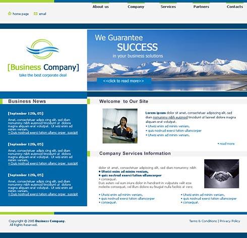 Web Template 0064