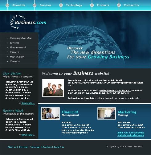 Web Template 3224