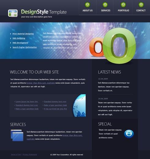 Web Template 4439