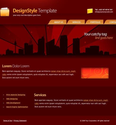 Web Template 4441