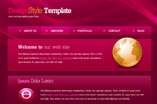 Web Template 4445